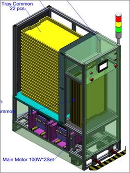 xe AGV chở linh kiện 1